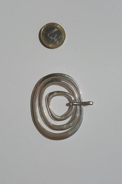 3 aros ovalados 6 cm