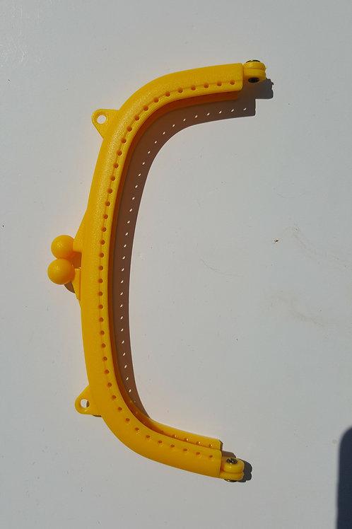 Boquilla de plástico de resina de 16 cm de color AMARILLO