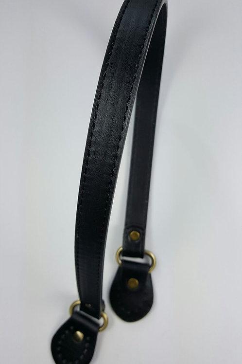 Asa negra de piel 60 cm