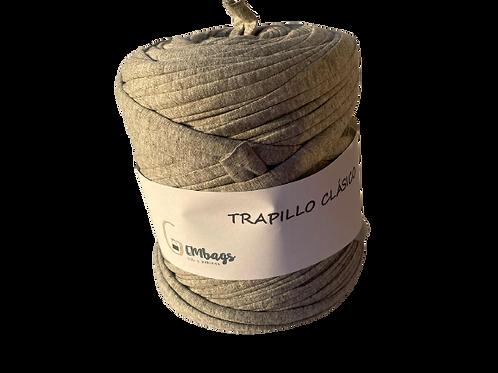TRAPILLO COLOR GRIS BOBINA GRANDE, TRAPILLO ESPAÑOL DE CALIDAD
