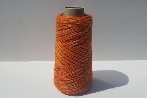 NARANJA LINO NATURAL 5/C GROSOR 2 MM BOBINA 200 GRAMOS