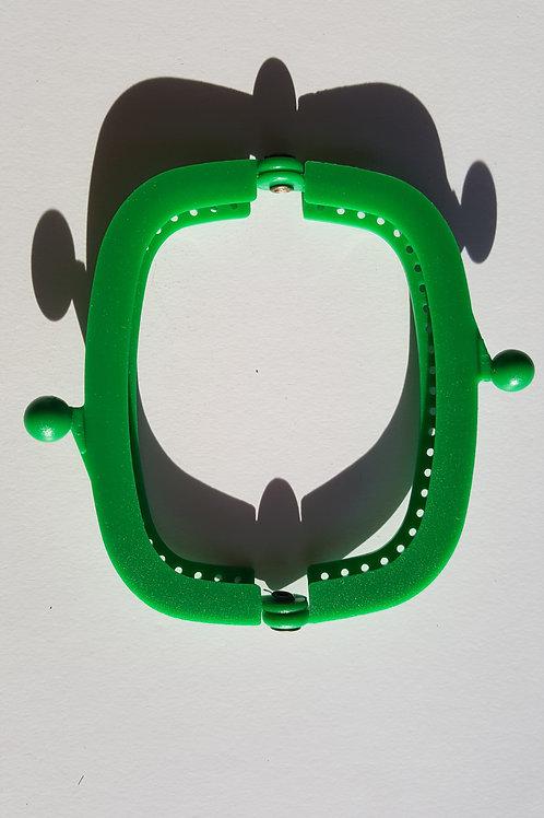 Cierre boquilla de plástico de 8.5 cm de VERDE