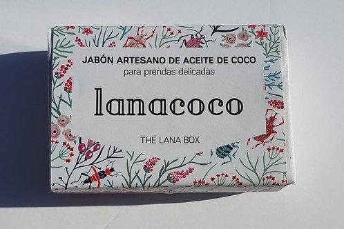 LANACOCO JABÓN ARTESANO CON 100% ACEITE DE COCO