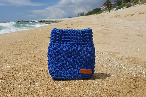 GEMbag PARA CADA DÍA REALIZADO CON MINI COTTON AIR EN COLOR AZUL