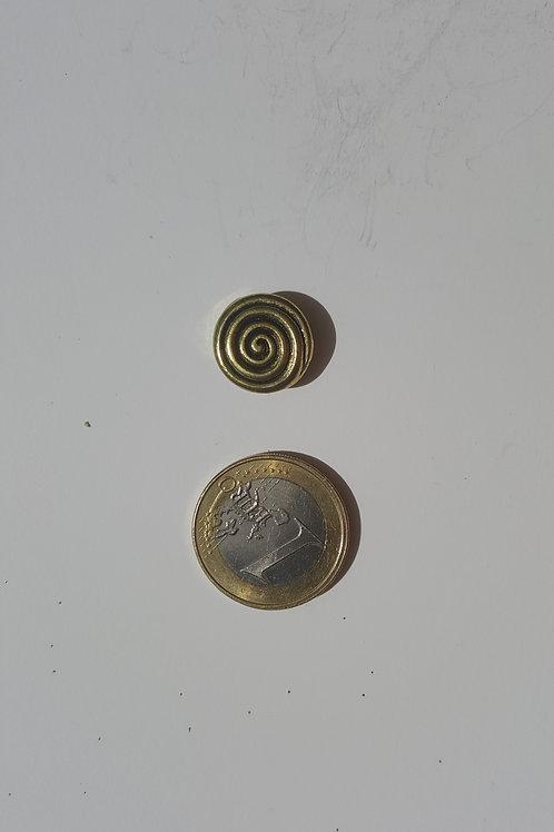 Circulín dorado 1.5 cm