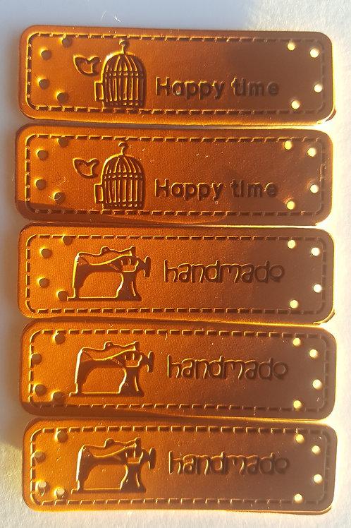 PACK DE 5 PIEZAS HAND MADE de 5 cm x 1.5 cm