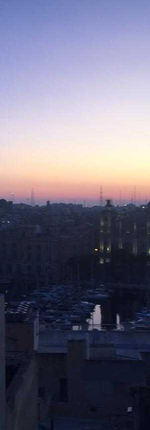 Sunrise over Cottonera