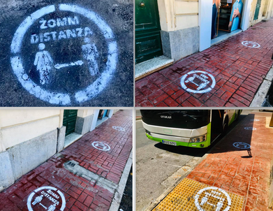 Waiting areas across Malta need to be marked