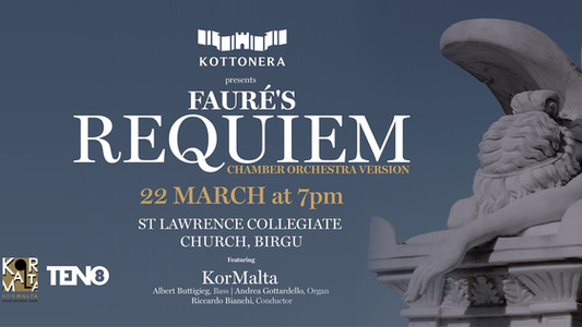 Fauré Requiem in Birgu