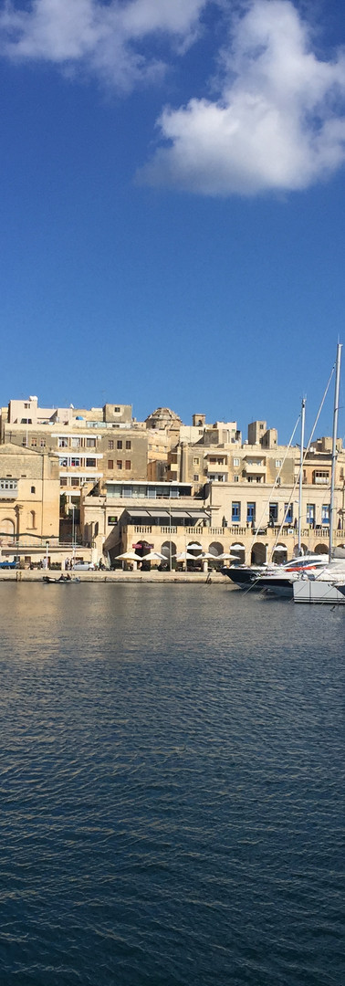 view from Senglea to Birgu