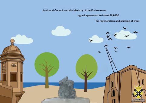 Announcement Local Council L-Isla