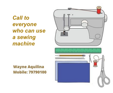 Can you sew?
