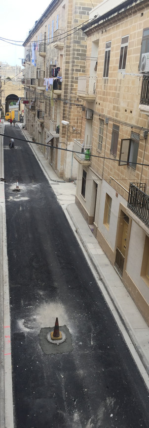 Two Gate street in Isla after renovation
