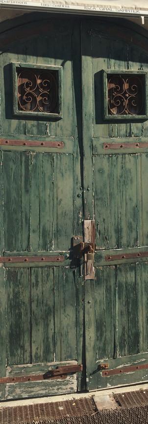 workshop door