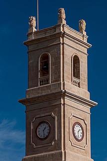 Clock Tower at the Capuchin Monastery in Kalkara