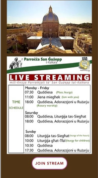 Time Schedule Live Streaming