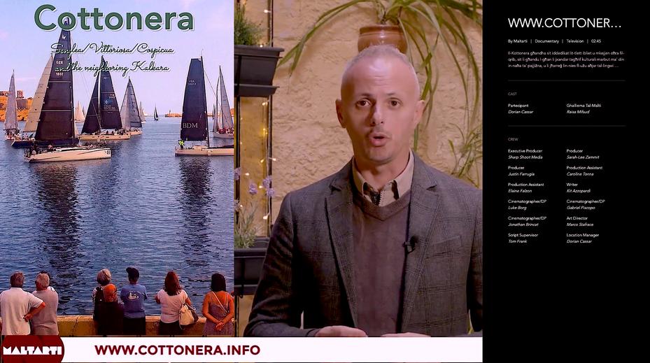 www.cottonera.info on Television Malta (TVM)