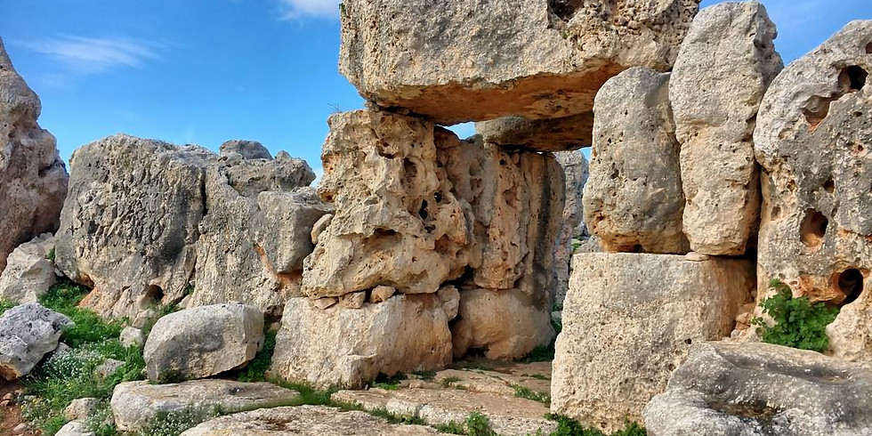 Hagrat Temples in Mgarr  (guided tour) - for men only