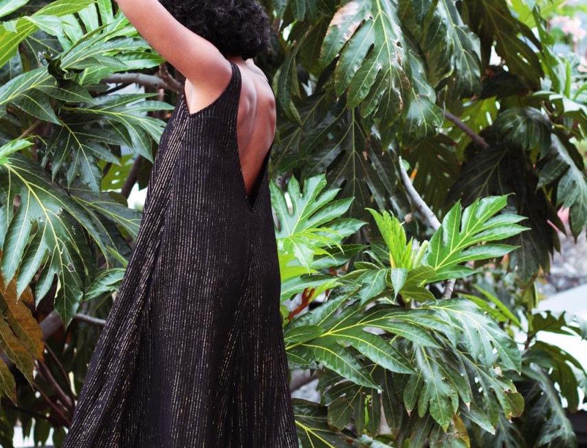 Robe longue MARRAKECH Noire