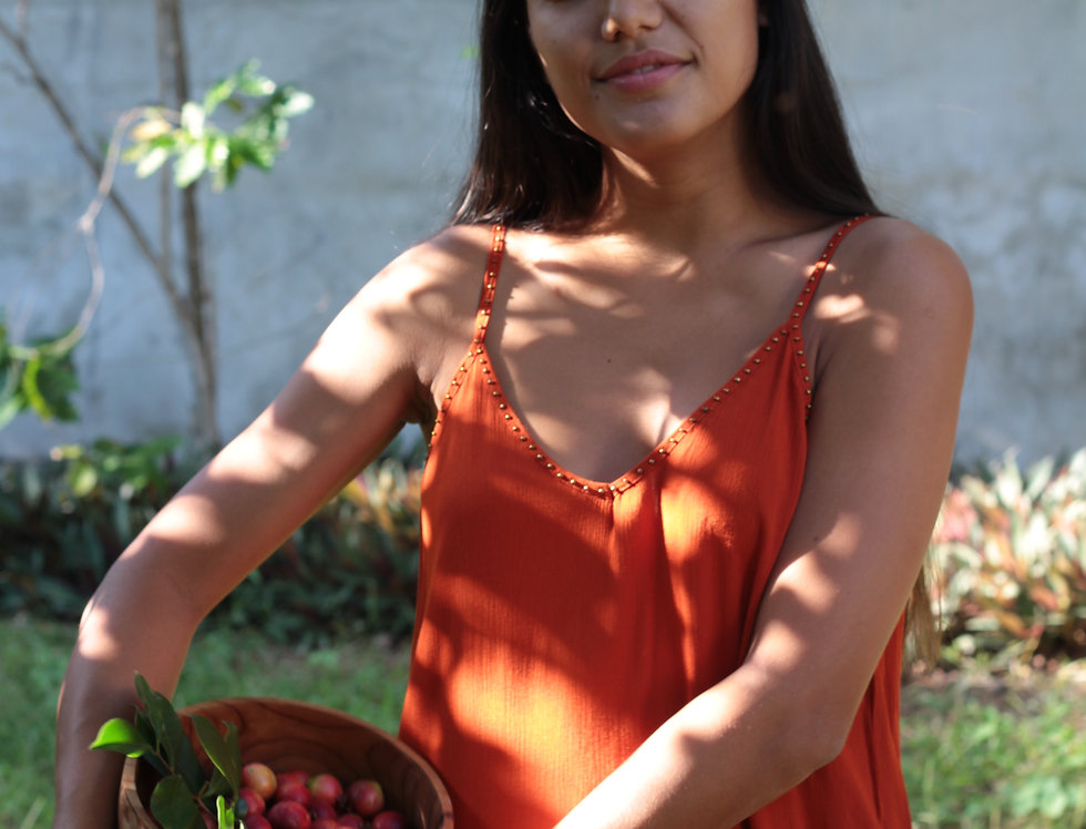 Robe Pineapple / Terracota