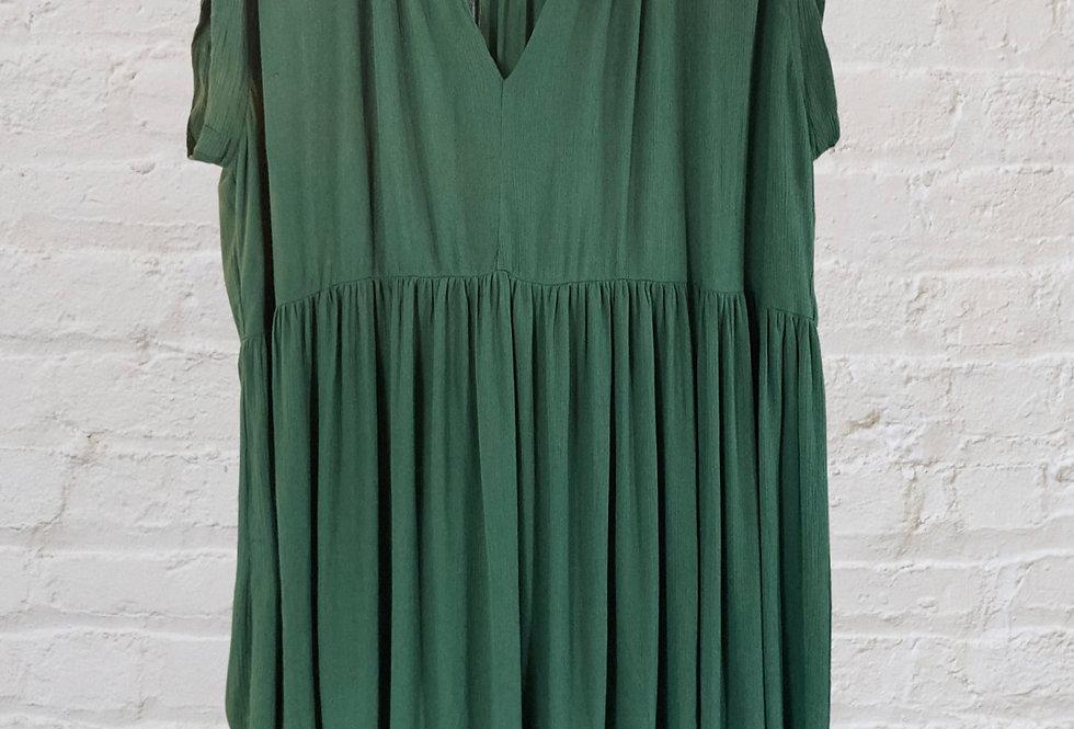 Robe Longani / vert sauge