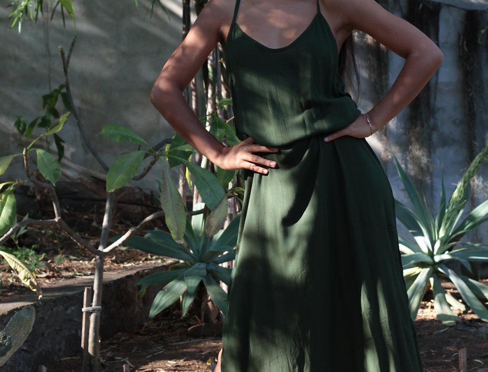 Robe Kali / vert sauge