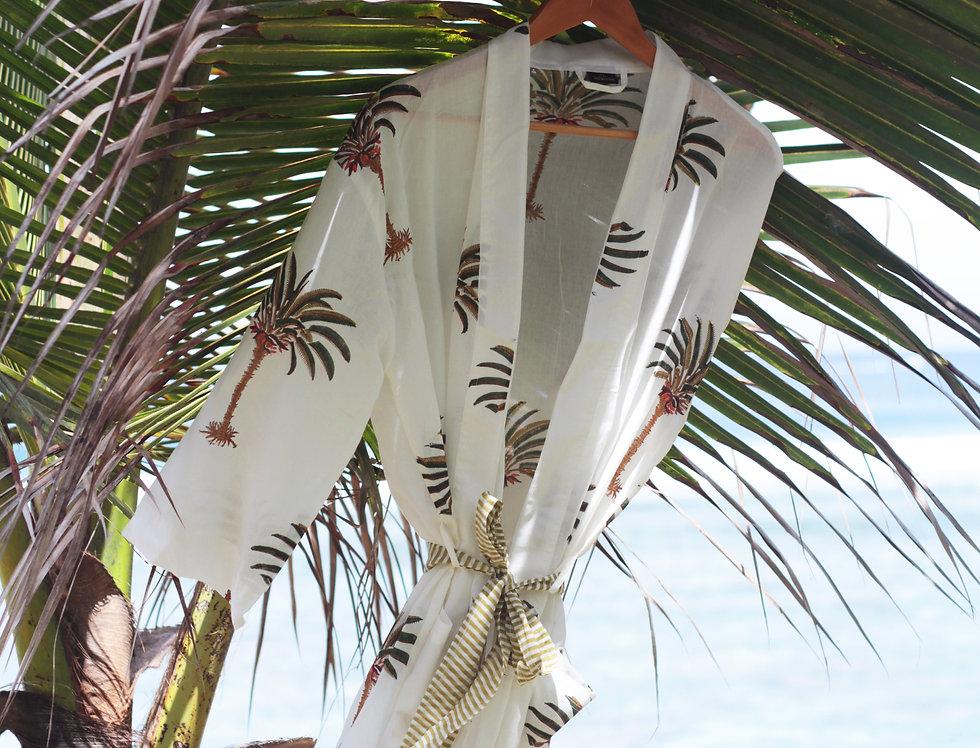 Kimono Palmiers
