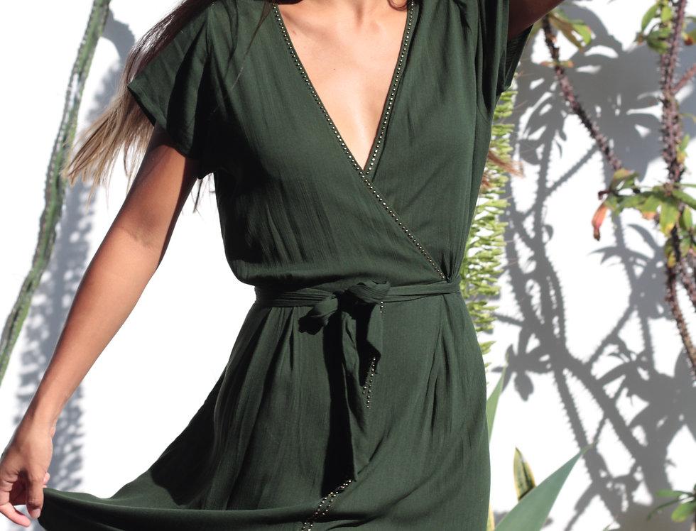 Robe Pitaya / Vert sauge