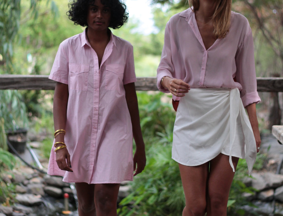 Robe chemise Country Rose