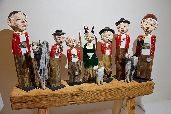 Appenzeller Figuren, Holz