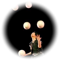 Ryu - Numéro de jonglerie de ballons