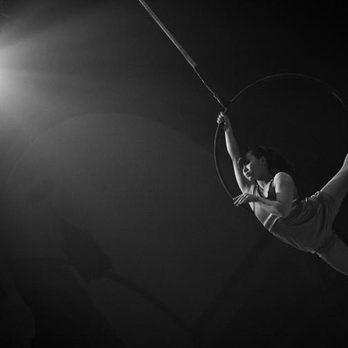 Arisa - artiste de cirque aérien