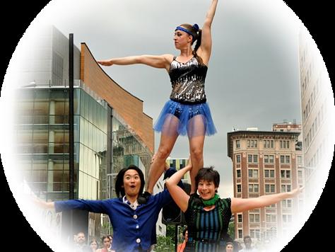 Trio acrobates - Les Brillantines