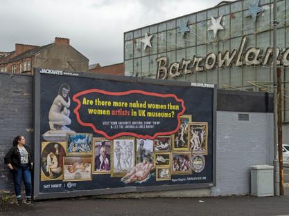 Challenging The Male Graze - Guerrilla Girls in Glasgow