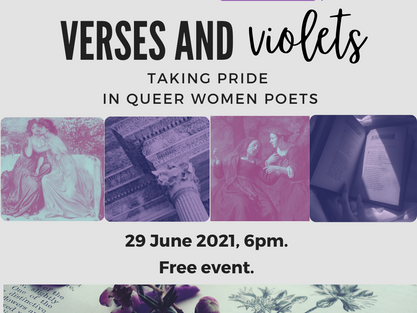 Verses and Violets: Taking Pride in Queer Women Poets