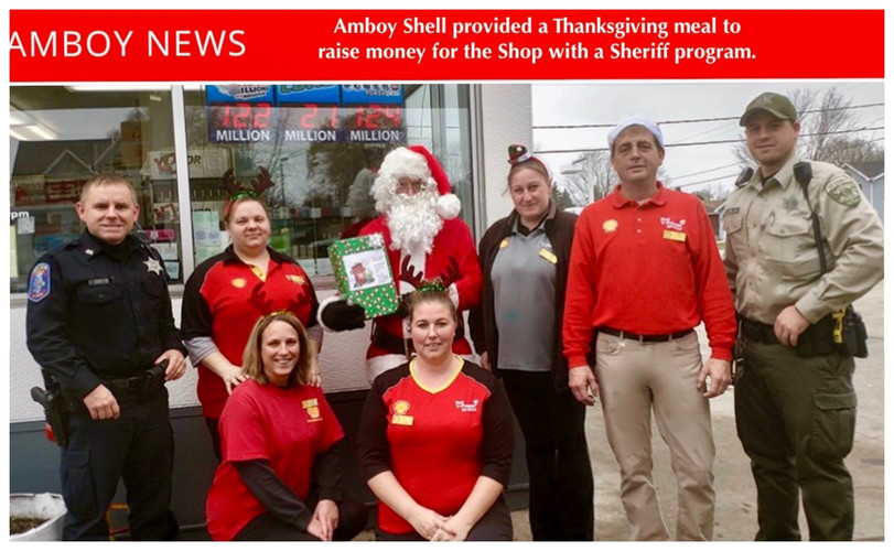 Shop with a Sheriff - Amboy Shell