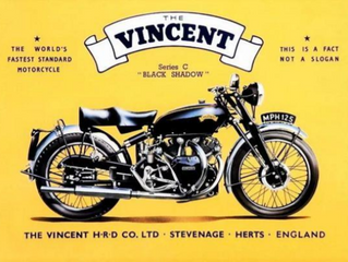 Vincent Motorcycles – A Brief History
