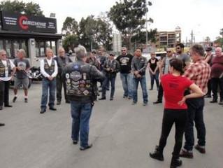 HOG Ride NMR Sugar Salt Café & part 5 of Sergio's Sturgis experience