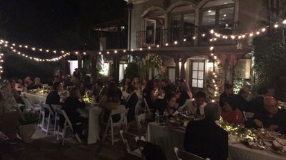 Wedding with 40-50 guests at the Houdini Estates in Los Angeles, Ca