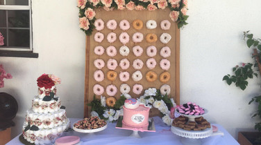 Man Babyshower with 20 guests in Pasadena, Ca