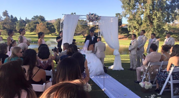 Wedding in Porter Ranch, Ca with 60-70 Guests