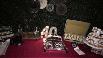 40th Birthday party with 20-30 guests in Los Angeles, Ca