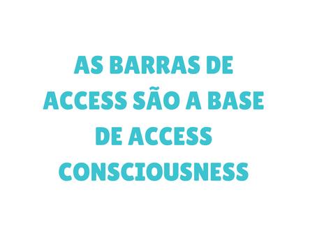 Por que e pra que fazer um curso de Barras de Access?