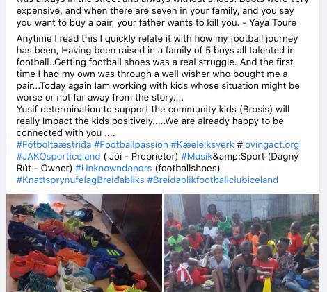 Brosis Kenya Campaign