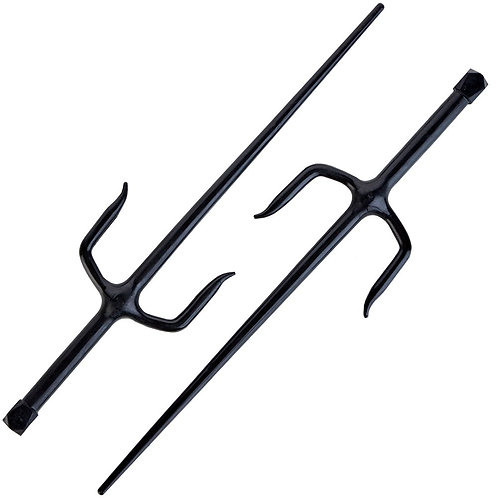 Rubber Sai 19.5 Inch - Pair