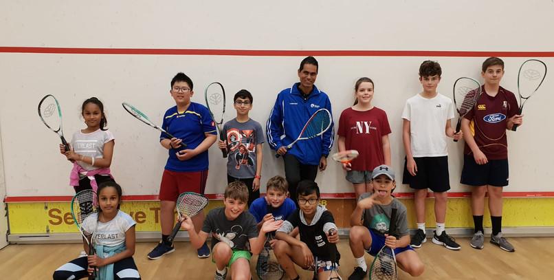 Unitech Juniors Squash Program