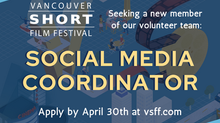 Seeking: Social Media Coordinator (VSFF Volunteer Position)