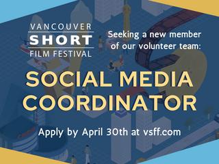 Seeking: Social Media Coordinator (VSFF Volunteer Position)