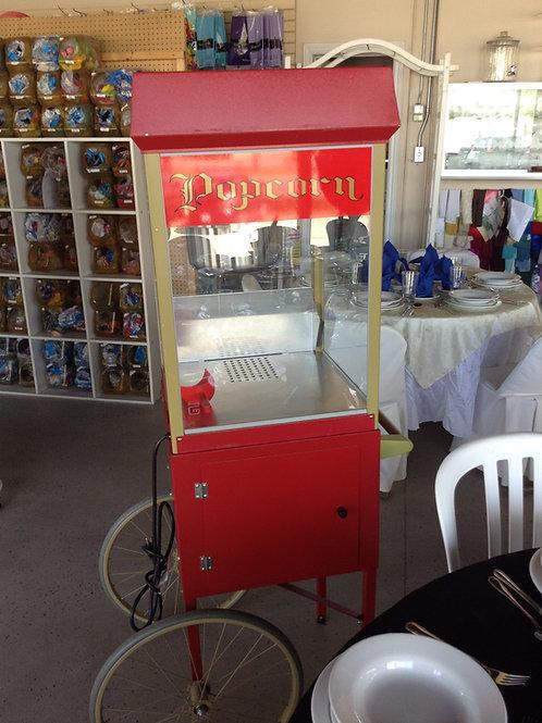 Popcorn Machine w/ Cart - Small