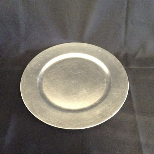 Silver Charger Plate